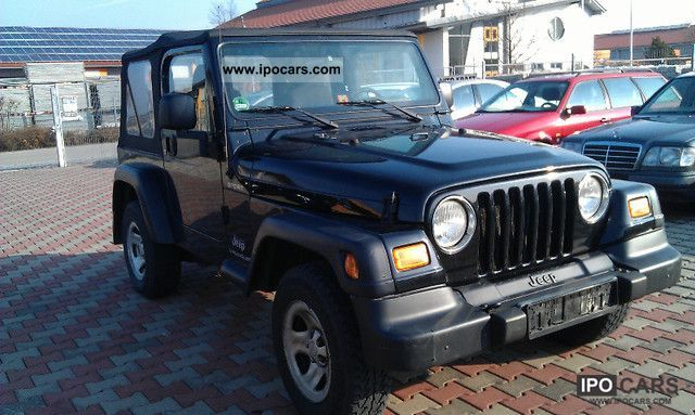 2004 Jeep  2.4 Plane Wrangler Sport 4 x 4 Off-road Vehicle/Pickup Truck Used vehicle photo