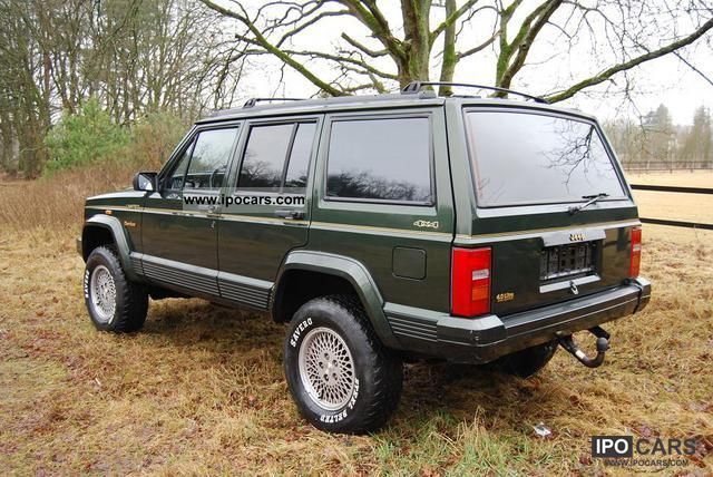 1996 Jeep Cherokee Xj 4 0l Ho Limited Hunter Edition