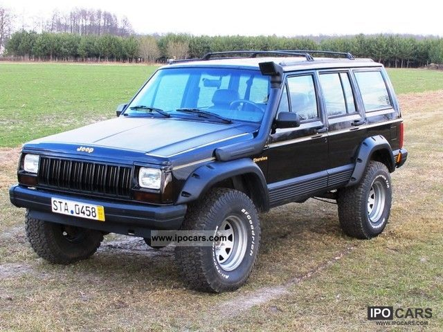 1992 jeep cherokee xj limited bf goodrich car photo and specs. Black Bedroom Furniture Sets. Home Design Ideas