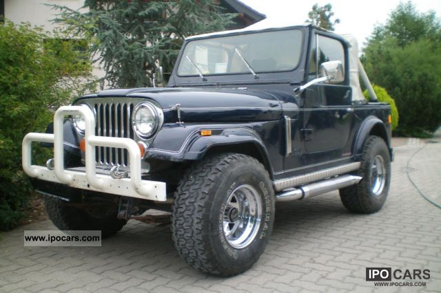 Jeep  CJ7 4.2 H-approval 1977 Vintage, Classic and Old Cars photo