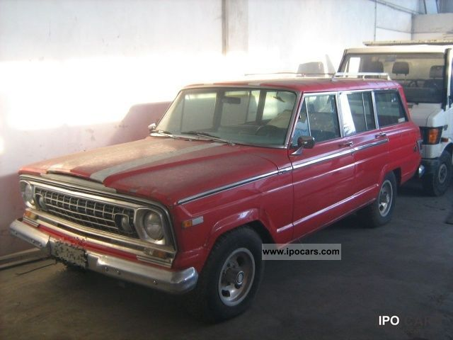 1976 Jeep  Wagoneer 4.0 Limousine Used vehicle photo
