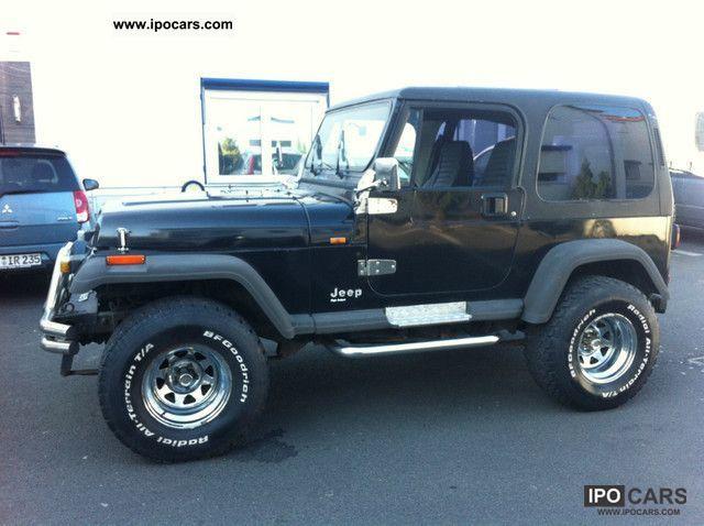 jeep wrangler  black bigfoot car photo  specs