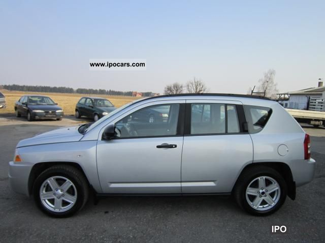 2007 jeep compass 2 0 crd 4x4 car photo and specs. Black Bedroom Furniture Sets. Home Design Ideas