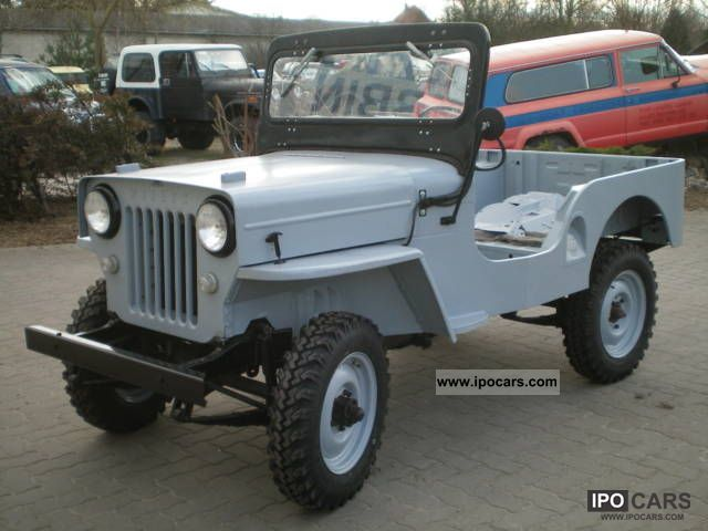 Jeep  Willys CJ3B H-approval 1958 Vintage, Classic and Old Cars photo