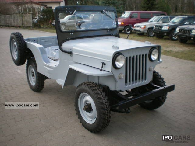 1958 Willys Jeep Wagon http://ipocars.com/vinfo/jeep/willys_cj3b_h_approval-1958.html