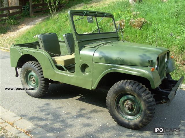 1956 Jeep Willys - Car Photo and Specs