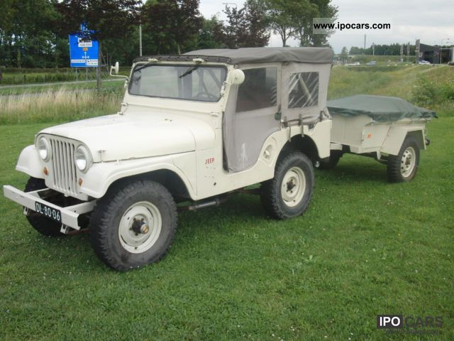 Jeep  Kaiser CJ5 CJ-5 and trailers, Willys, Nekaf 1965 Vintage, Classic and Old Cars photo