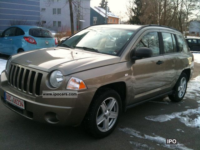 2008 jeep compass 2 4 sport car photo and specs. Black Bedroom Furniture Sets. Home Design Ideas