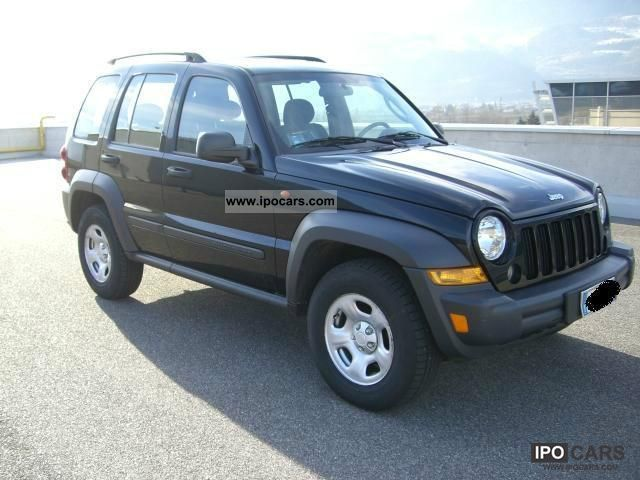 2007 jeep cherokee 2 8 crd sport car photo and specs. Black Bedroom Furniture Sets. Home Design Ideas