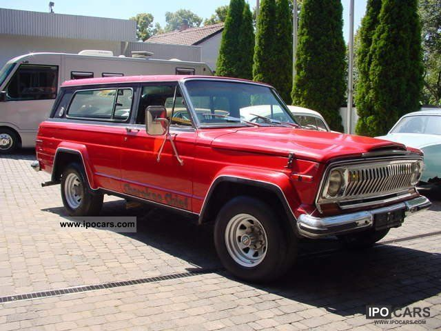 Jeep  Cherokee Chief 1977 Vintage, Classic and Old Cars photo