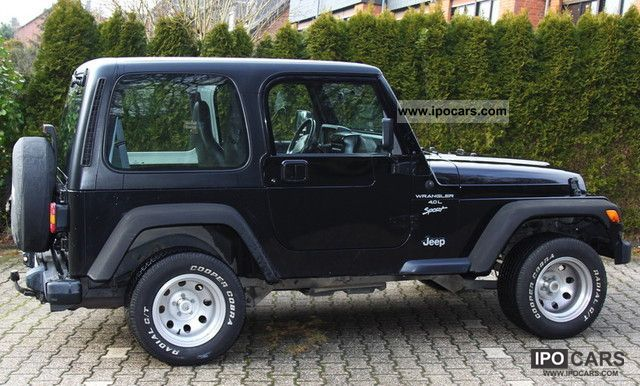 2000 Jeep Wrangler Sport 4.0, Trailer Hitch, DVD, Non Smoking Off Road ...
