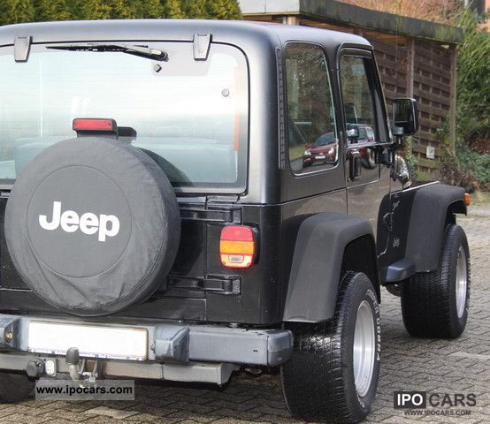 ... 2000 Jeep Wrangler Sport 4.0, Trailer Hitch, DVD, Non Smoking Off Road  ...