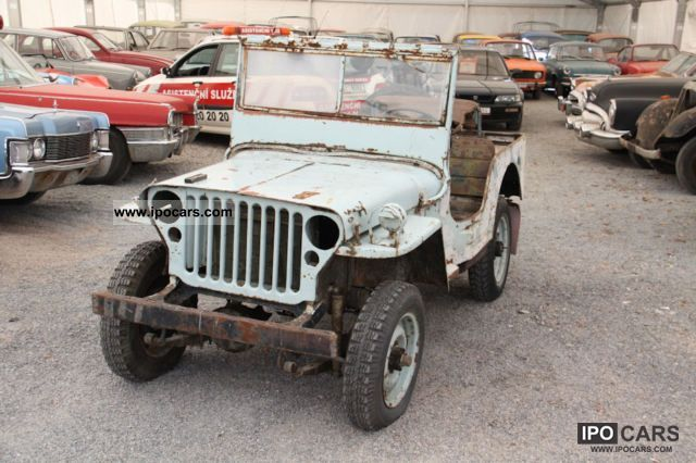Jeep  Willys / Ford GPW 1942 Vintage, Classic and Old Cars photo