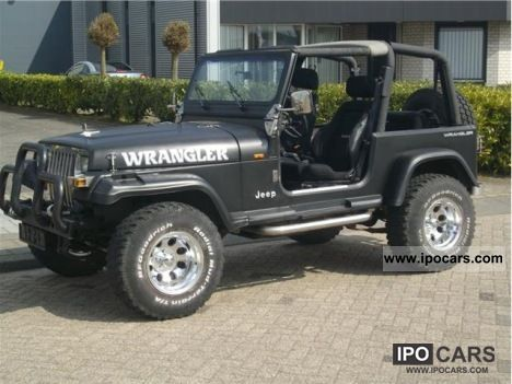 1995 Jeep Wrangler 15 PIECES OP VOORRAAD Off Road Vehicle/Pickup Truck Used  Vehicle
