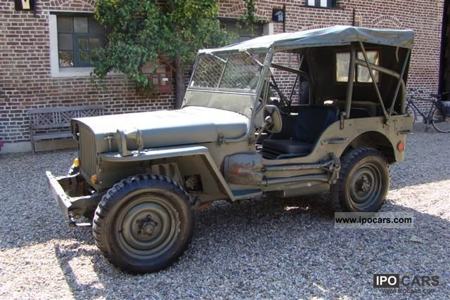 Jeep  Hotchkiss M201 1955 Vintage, Classic and Old Cars photo