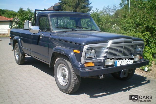 1981 Jeep  J20 5.9 V8 pick-up 4x4 Off-road Vehicle/Pickup Truck Used vehicle photo