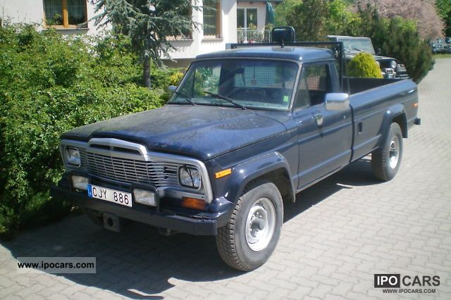 1981 Jeep J20 5 9 V8 pick-up 4x4 - Car Photo and Specs