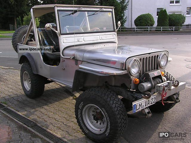 Jeep  Willys Jeep Stainless Steel 1973 Vintage, Classic and Old Cars photo