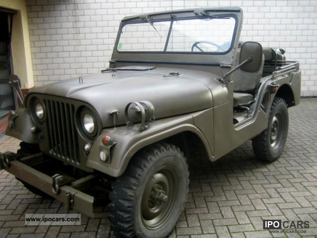 Jeep  Willys M38A1, TÜV again, H-approval 1960 Vintage, Classic and Old Cars photo