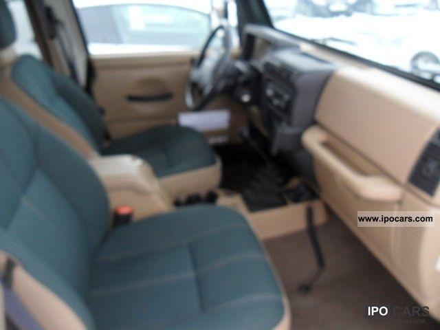 2002 jeep wrangler sahara specs
