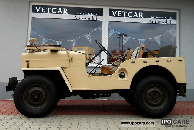 Jeep  Willy's Overland 4x4 BJ: 1962 APC H-approval 1963 Vintage, Classic and Old Cars photo