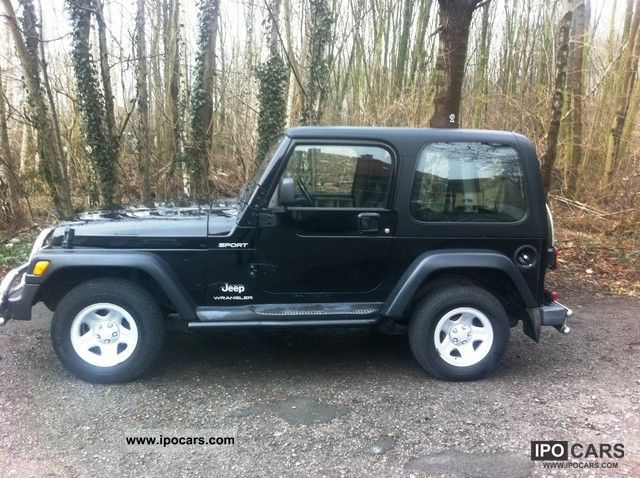 2003 Jeep Wrangler 2.4 Sport Off Road Vehicle/Pickup Truck