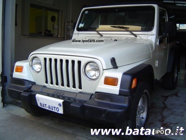 Jeep  Wrangler 4.0 Sport Soft Top Hard Automatica GPL 2000 Liquefied Petroleum Gas Cars (LPG, GPL, propane) photo