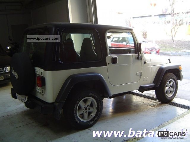 2000 jeep wrangler 4 0 sport soft top hard automatica gpl car photo and specs. Black Bedroom Furniture Sets. Home Design Ideas
