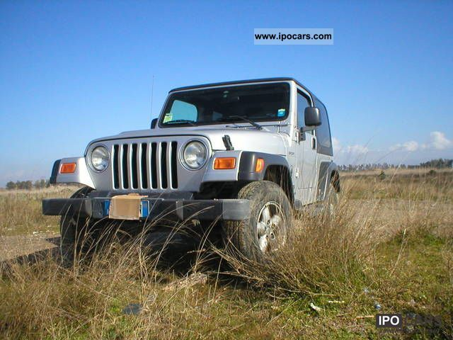 Jeep  Wrangler 2003 Liquefied Petroleum Gas Cars (LPG, GPL, propane) photo