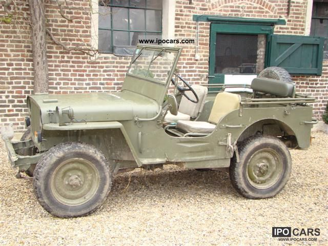 Jeep  MB 1950 Vintage, Classic and Old Cars photo