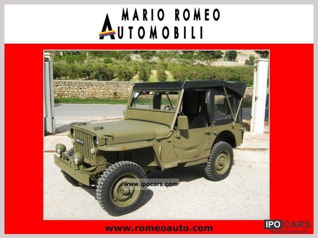 Jeep  Willys MB GPW 1941-45 1947 Vintage, Classic and Old Cars photo