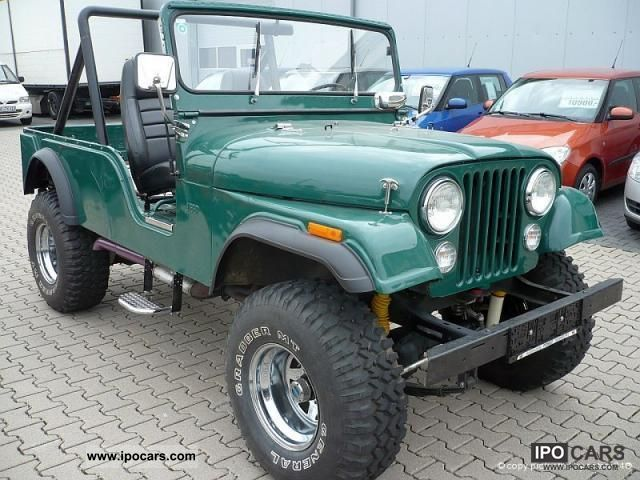 Jeep  CJ-6 CJ6 CJ Universial 6 * V6 * H-Approval 1972 Vintage, Classic and Old Cars photo