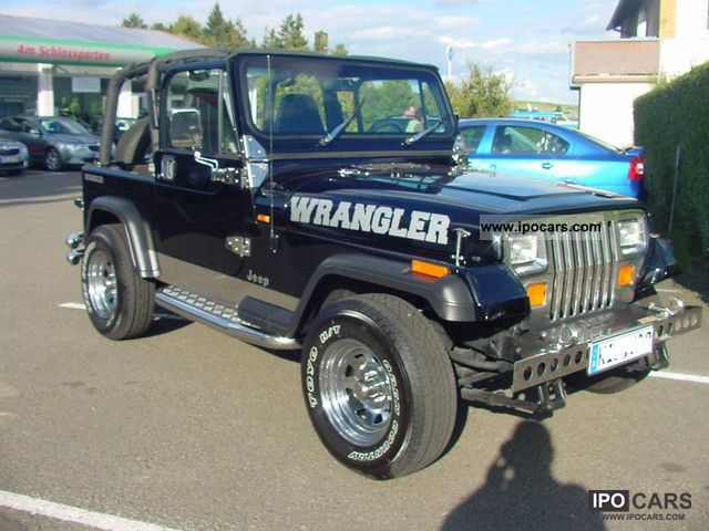 1995 jeep wrangler 4 0 car photo and specs. Black Bedroom Furniture Sets. Home Design Ideas