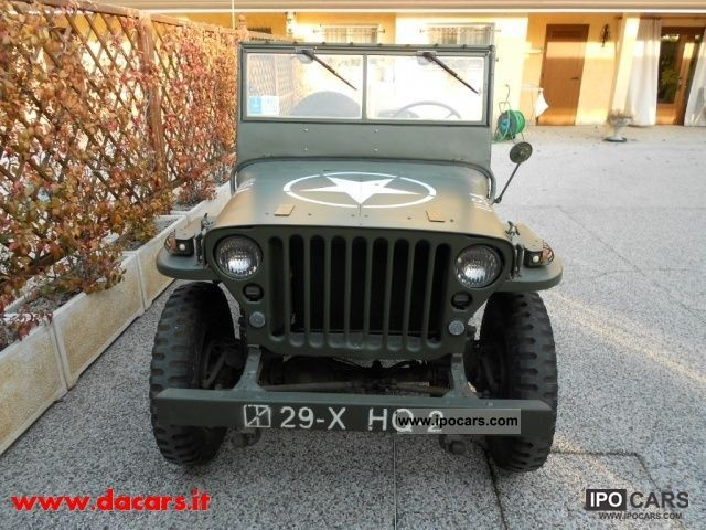 1952 Jeep Willys TARTRATE TRICE AGRICOLA - Car Photo and Specs