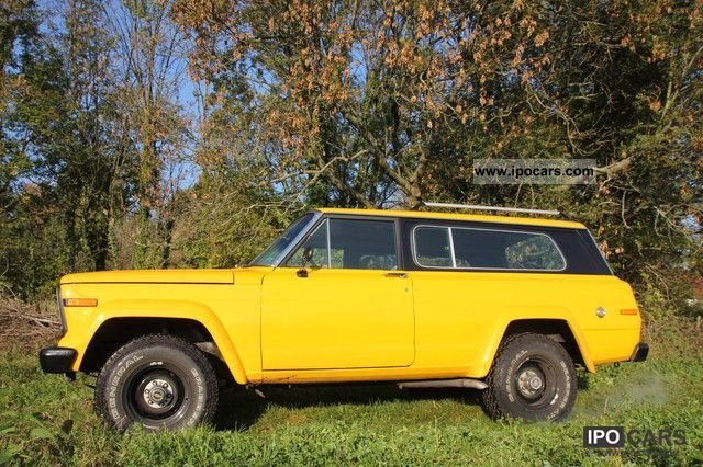 Jeep  Cherokee Chief H-certificate / TÜV 1978 Vintage, Classic and Old Cars photo