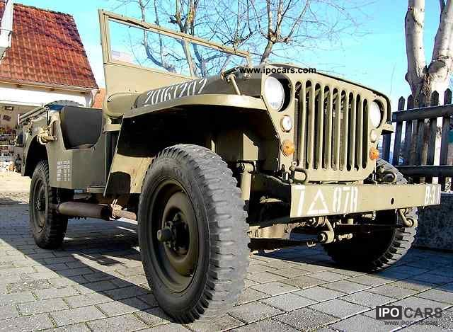 Jeep  Willys MB (Hotchkiss M201) 1943 WW2 1943 Vintage, Classic and Old Cars photo