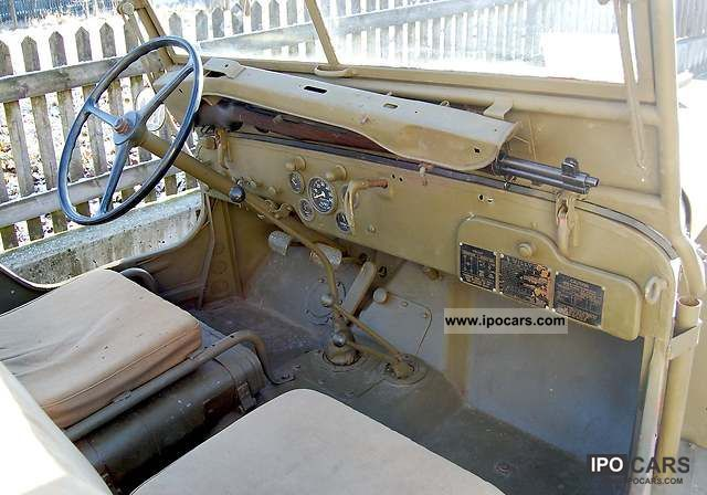 1943 Jeep Willys Mb Hotchkiss M201 1943 Ww2 Car Photo And Specs