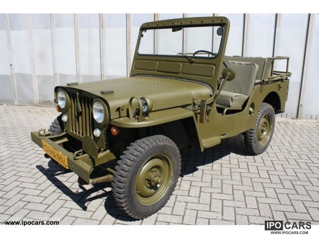 Jeep  Willys CJ2A 4 wheel drive 1949 Vintage, Classic and Old Cars photo