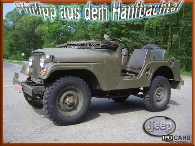 Jeep  Kaiser Willys Overland CJ5 1968 Vintage, Classic and Old Cars photo