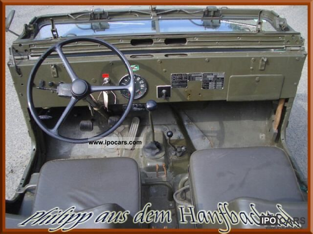 1968 Jeep Kaiser Willys Overland Cj5 Car Photo And Specs