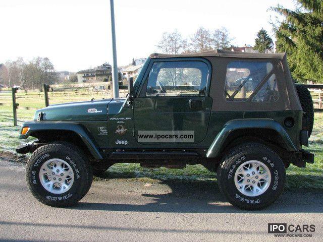 2000 jeep wrangler 4 0 sahara car photo and specs. Black Bedroom Furniture Sets. Home Design Ideas