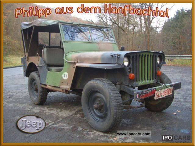 1964 Jeep  Willys Overland MB Hotchkiss M201 Army Jeep Off-road Vehicle/Pickup Truck Classic Vehicle photo