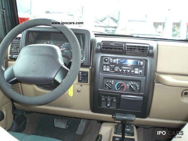 2000 Jeep Wrangler Tj Sahara Automatic Car Photo And Specs