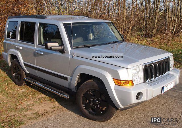 2008 jeep commander 4x4 7 4 auto sport e85 car photo and. Black Bedroom Furniture Sets. Home Design Ideas