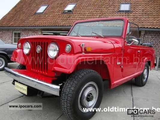 Jeep  jeep jeepster 1971 Vintage, Classic and Old Cars photo