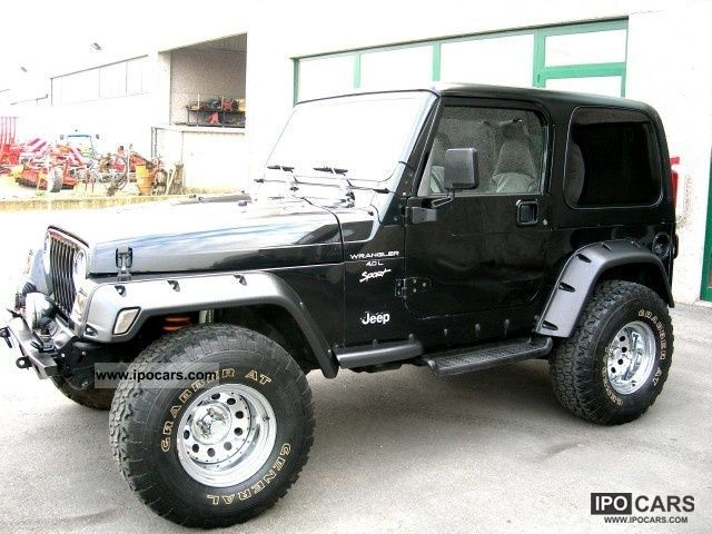 2000 Jeep Wrangler Tj 4000 GPL Limousine Used Vehicle Photo ...
