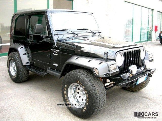 2000 Jeep Wrangler Tj 4000 Gpl Car Photo And Specs