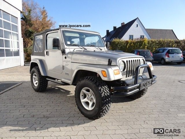 Off Road 2001 Jeep Wrangler 4 0 Sport 15 Km Top Tags