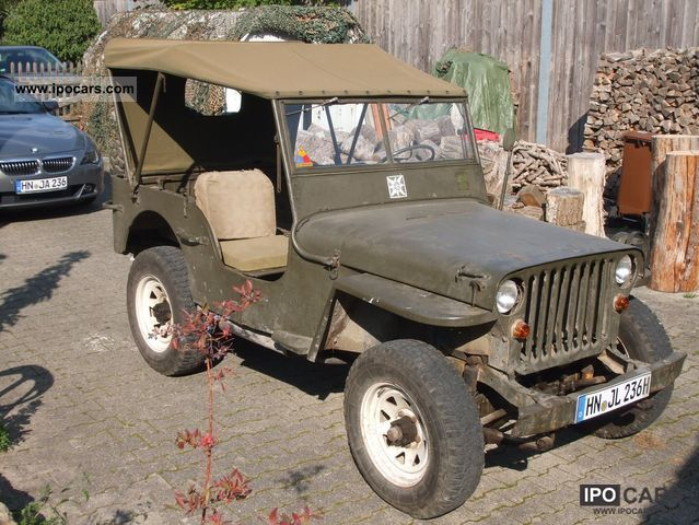 Jeep  Willys 1942 Vintage, Classic and Old Cars photo