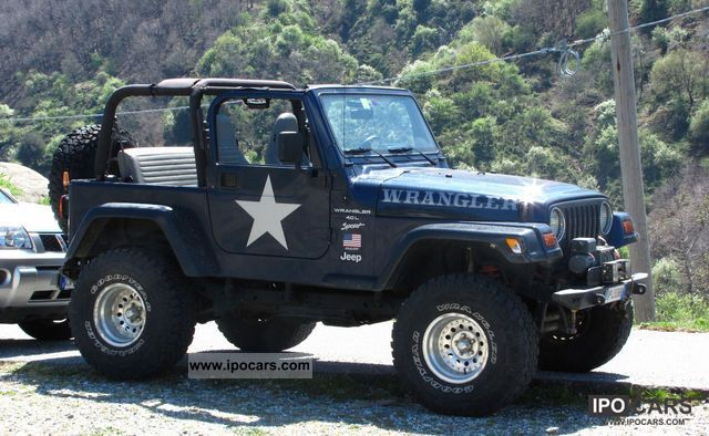 2001 jeep wrangler tj 4000 car photo and specs. Black Bedroom Furniture Sets. Home Design Ideas